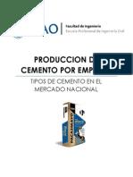 Lab00 - Cementeras en El Perú (UPAO) - TECNOCO