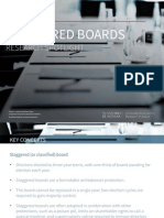 03. Staggered Boards - Research Spotlight