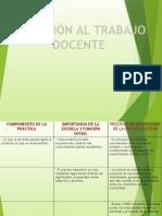 """Exposición """"Iniciación Al Trabajo Docente"""""""