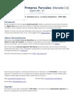 1ros Parciales (Álgebra CBC - 27) (FDX Maths - Versión 1.1)