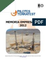 Memoria Empresarial PT Chile Ver 03 -2012