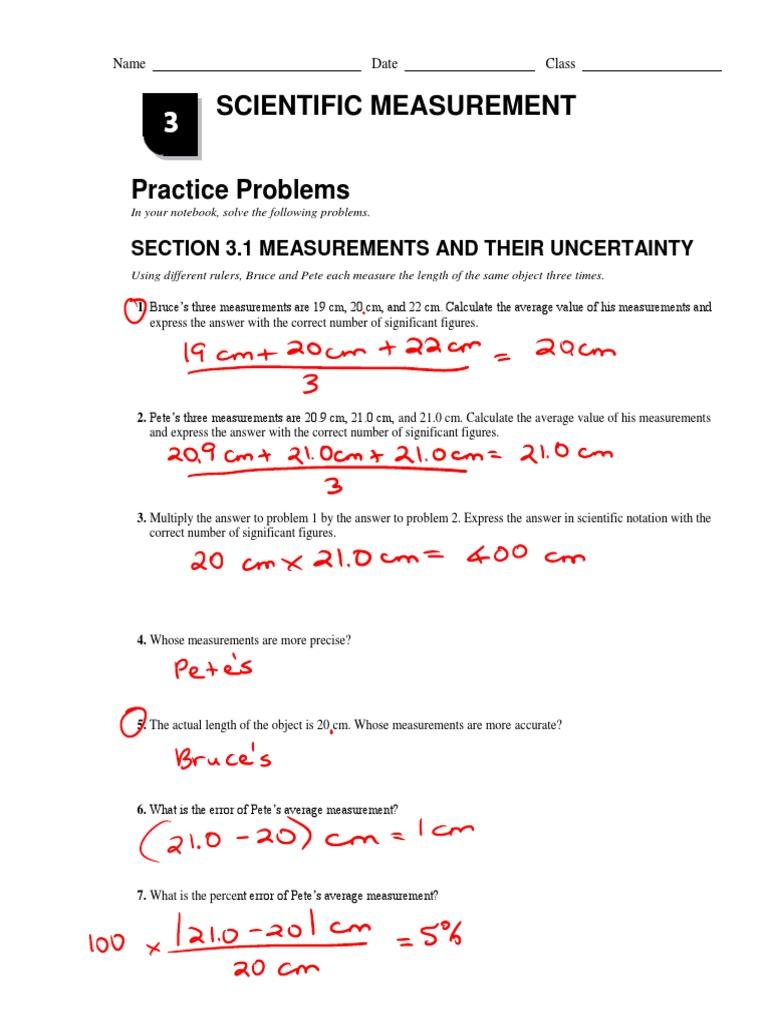 Workbooks measuring units worksheets : Worksheets. Scientific Measurement Worksheet. Opossumsoft ...