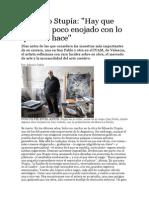 entrevistaEduardo Stupía