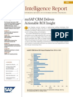 2006 CRM ROI Intelligence Report US