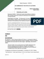 California Public Utilities Commission Fire Prevention Resolution