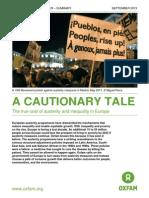 Cautionary Tale Austerity Inequality Europe 120913 Summ En