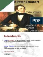 J. Cabré. Lieder Schubert