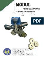 Modul Autodek Inventor (CAD)