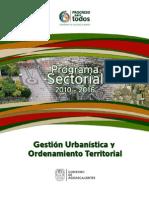 Sector_Gestion Urbanistica y Ordenamiento Territorial Aguascalientes 2010-2016