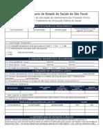 Formulario de Solicitacao de Medicamento Instituicao