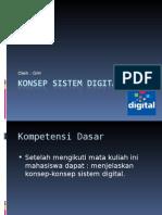 Konsep Sistem Digital