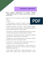 Revista Áreas Desigualdades de Género en España