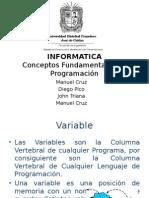 Conceptos Fundamentales de Programacion