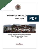 Thimphu City Development Strategy 2008