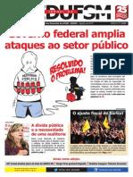 Jornal SEDUFSM Agosto 2015