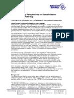 DNS Filtering 20110915