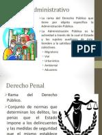 Derecho Administrativo y otros
