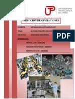 Informe Automatización Industrial