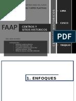 Centros Historicos Del Peru