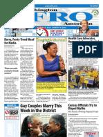 Washington D.C. Afro-American Newspaper, March 13, 2010