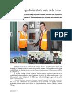 10.10.2014 Genera Durango Electricidad a Partir de La Basura