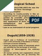 Sociological School