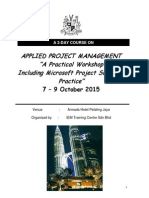 Applied Pm Incl Ms Project 2010