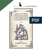 Suros Batllo Antonio - Lecciones de Higiene Y Economia Domestica 1892