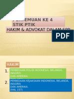 Hakim & Advokat dalam SPP