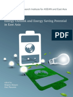 Energy Outlook and Energy Saving Potential in East Asia  by Shigeru Kimura and Han Phoumin