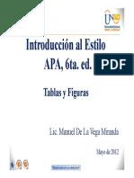 3. Tablas y Figuras Apa 6ta. Ed.