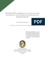 Demographic assessment and medium-term success of a reintroduced population of Dasyprocta leporina