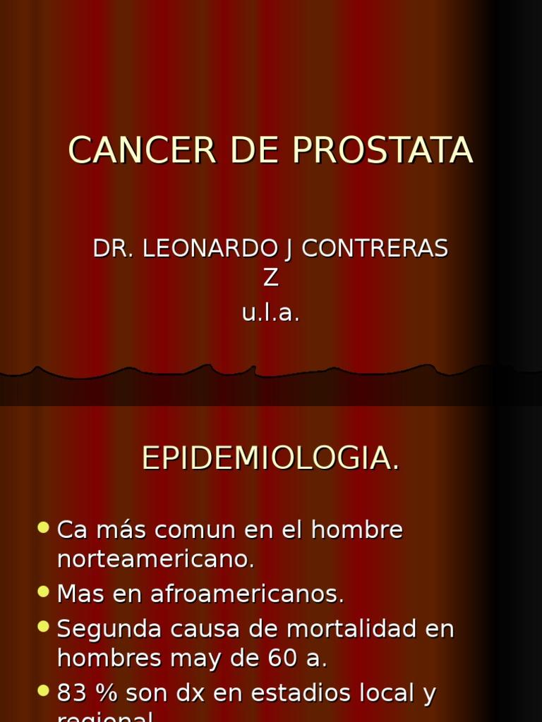 ecosistema de tumor de próstata