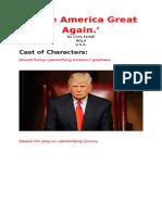 Make America Great Again--Revised