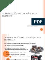 Clasificación de Las Máquinas Térmicas