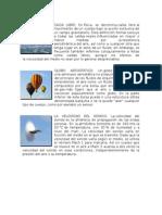 Caida Libre, Globo Aerostatico y Velocidad Del Sonido