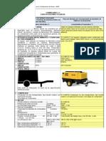 Especificaciones Generales XAS 186