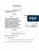 Pension Committee v. Banc of America (Electronic Discovery , SDNY 2010)