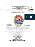 1ra Practica lab, de medidas electricas