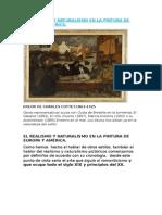 Realismo y Naturalismo en La Pintura