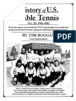 History of U.S. Table Tennis - Vol. XI