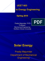 Energy Engineering- Solar
