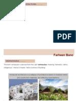 Lec-1 Introduction Vernacular architecture