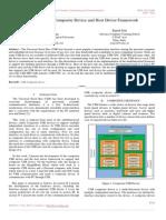 Design of USB Composite Device and Host Driver Framework