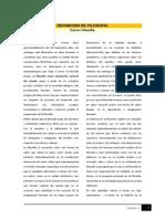 M2D DEFINICIÓN DE FILOSOFÍA