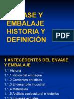 envase y embalaje historia y definición