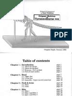 Issei Yoshino - Origami Skeleton of Tyrannosarus Rex