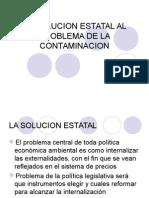 La Solucion Estatal Al Problema de La Contaminacion
