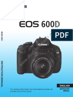EOS 600D Instruction Manual En