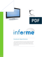 'Informe' - How to redesign your existing digital signage network